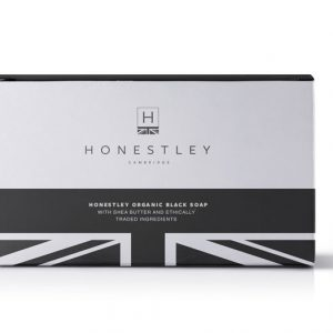 Honestley Black Soap bar